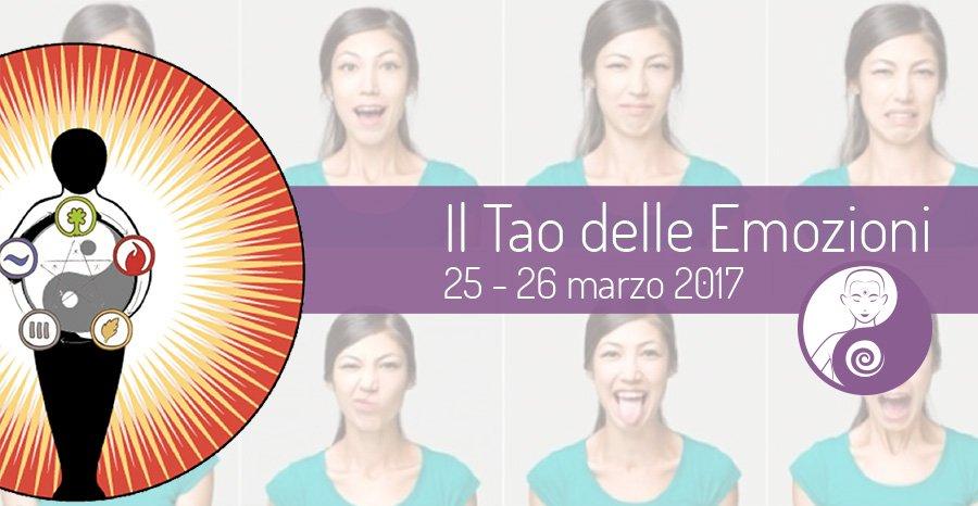 Il Tao delle Emozioni – Seminario – 25 e 26 marzo 2017