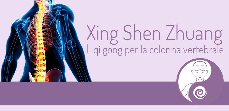 Xing Shen Zhuang: un qi gong per la colonna vertebrale