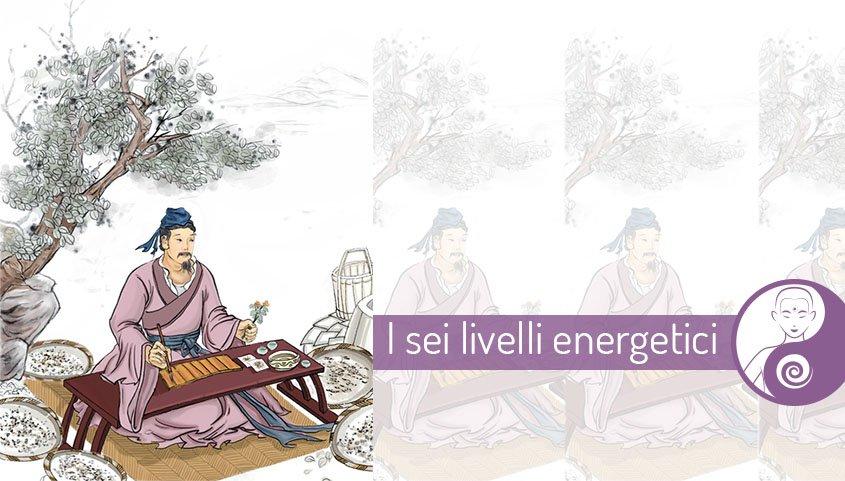 I sei livelli energetici