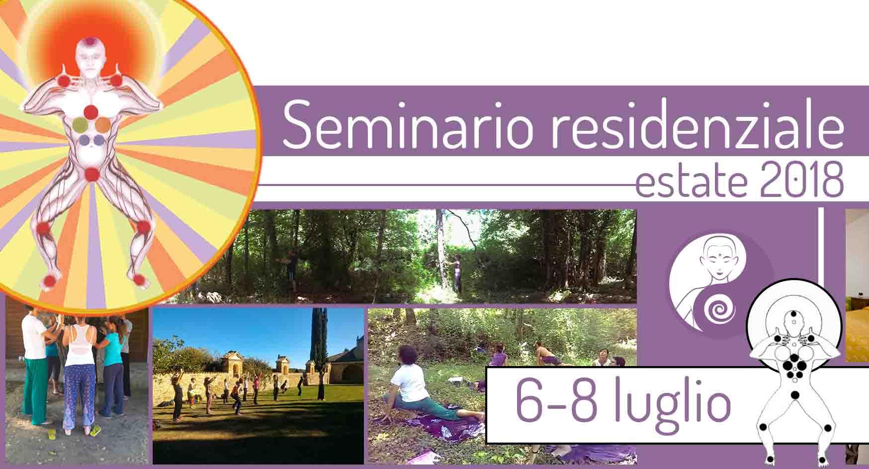 Seminario residenziale estivo: 6-8 luglio 2018