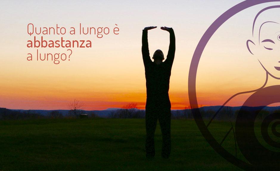 Quanto praticare qi gong e meditazione?