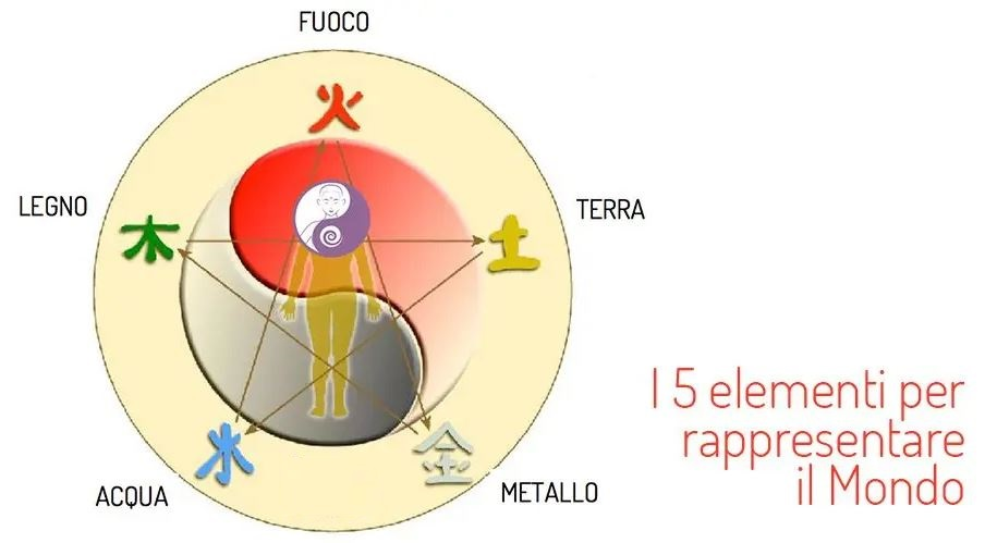 i 5 elementi