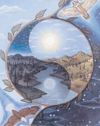 yin yang inverno