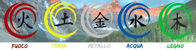 5 elementi tao