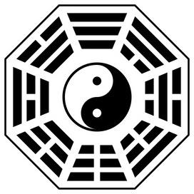 8 trigrammi yin yang