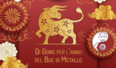 Cinque Qi Gong e meditazioni per l'anno del Bue di Metallo
